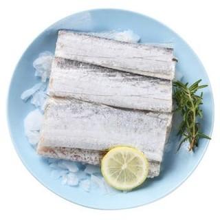 鲜美来 东海带鱼中段 7-9段 420g *15件