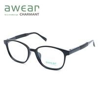 Charmant 夏蒙 CC3739 全框眼镜框+万新 1.67折射率 防蓝光镜片*2片