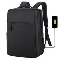 登斯雅 商务电脑双肩背包 带USB充电