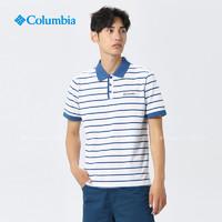 Columbia/哥伦比亚户外19新款休闲系列男款吸湿短袖POLO衫PM3455