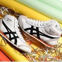 Onitsuka tiger 鬼塚虎 MEXICO MID RUNNER 男子运动休闲鞋