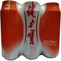 健力宝 橙蜜味运动饮料 330ml*6罐 *12件
