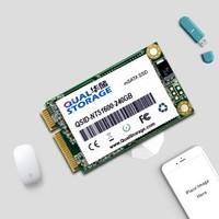 Qual 华储 mSATA 固态硬盘 240GB *2件 +凑单品