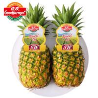 佳农 菲律宾菠萝 2个装 单果重900g~1100g *10件