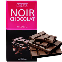 利尼雅 经典黑巧克力 100g *3件