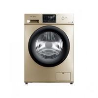 美的 10公斤kg全自动家用滚筒洗衣机 变频静音MG100V31DG5
