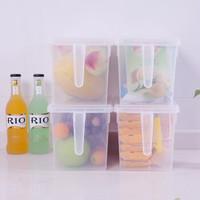 FaSoLa 冰箱收纳盒 带手柄 4个装 *3件