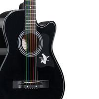 T9 民谣吉他 38寸 黑色 *2件