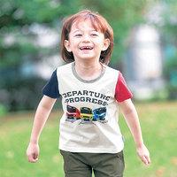 千趣会 男童宝宝短袖T恤