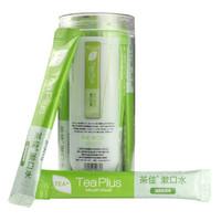 茶佳 漱口水便携装小包装12ml条状 抹茶味 1罐装(18条) *3件