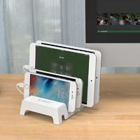 Orico/奥睿科 苹果充电支架底座手机平板摆放懒人放置架子多卡位
