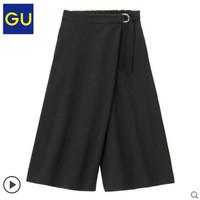 GU 极优 313815 女装花式阔腿裤