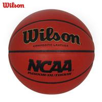 威尔胜wilson篮球室内室外水泥地耐磨训练NCAA比赛 PU成人7号篮球