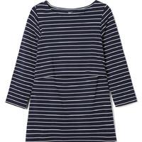 Gap 盖璞 孕妇装 舒适条纹分层式哺乳T恤