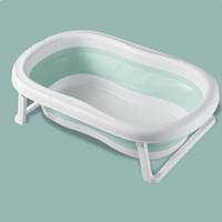 雯萱 婴儿折叠浴盆宝宝洗澡盆家用新生儿儿童泡澡缸沐浴桶 不带浴网 *3件