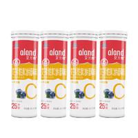 ALAND 艾兰得 维生素C含片 0.65g/片*25片*4瓶