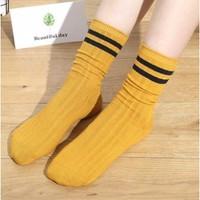 N9901 女士堆堆袜 3双装