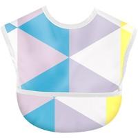 BSCR 婴幼儿易清洗围嘴 1条装 蓝色