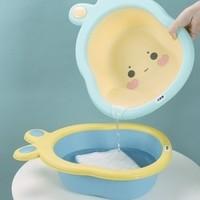 hippito 河马逗逗 初生婴儿洗脸盆 2个装