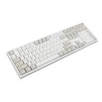 GANSS 高斯 GM108D机械键盘108键茶轴 红轴无光蓝牙