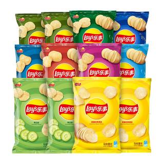 Lay's 乐事 薯片混合散装整箱 40g*12包