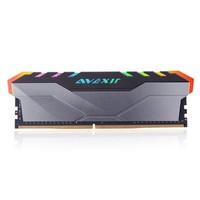 AVEXIR 宇帷 黑枪 RGB DDR4 3000 台式机内存条 8GB
