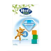 Hero baby 婴儿配方奶粉 4段 700g *6件