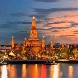 正国庆!非廉航直飞!广州-泰国曼谷往返含税机票