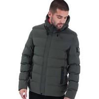 银联专享 : Crosshatch Black Label Kampleys Quilted Jacket 男士夹克 *2件