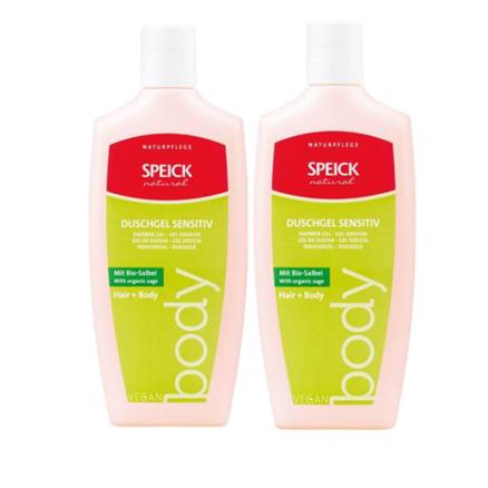 SPEICK 施贝德 有机鼠尾草二合一温和沐浴露洗发水 250ml *2瓶