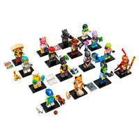 LEGO 乐高 71025 第19季小人仔 抽抽乐 4厘米大小 拆袋确认人物 一套16个不重复 已拆袋确认人物
