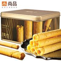 中国香港进口美心原味鸡蛋卷448g共32根精致礼盒装