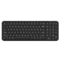 航世(B.O.W)HW098SC-2 无线键盘 超薄静音键盘 笔记本电脑通用 家用办公  黑色 自营