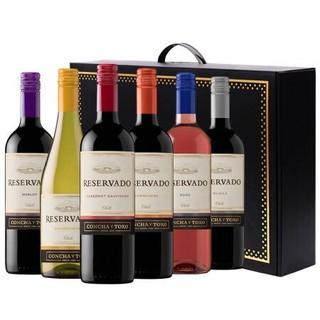 Concha y Toro 干露 珍藏整箱干红葡萄酒 750ml*6瓶*2件+赤霞珠干红