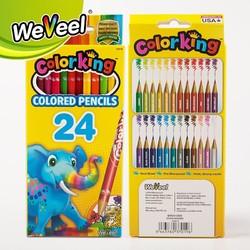 WeVeel 儿童彩色铅笔 24色