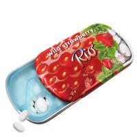 Rio 瑞欧无糖薄荷糖14g(草莓味) *14件
