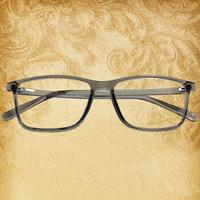 BAILINGGUIZU/白领贵族 超轻复古TR全框镜架防蓝光近视眼镜