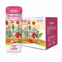 悦动力 草莓味乳酸菌饮品 1L*6 *3件