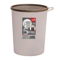 飞达三和垃圾桶1件5L家用卫生间客厅卧室厨房压圈手提垃圾桶收纳桶 *2件