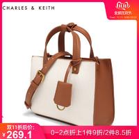 CHARLES&KEITH手提包CK2-30270052通勤风简约时尚单肩女包