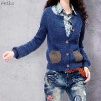 Artka 阿卡 100%全羊毛开衫外套 *3件