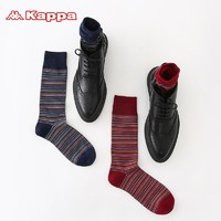 kappa 卡帕  KP8W04 男士中筒袜 2双装