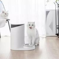 尾巴生活 宠物智能饮食礼盒(食光机喂食器*1、小澄饮水机*1、波波猫碗*1)
