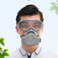 安爽利 防尘护目镜一体式防护面具