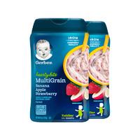 2件装|嘉宝4段香蕉苹果草莓混合谷物米粉 227g/罐装 原装进口 12个月以上