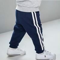 Miiow  猫人 男童时尚休闲运动裤