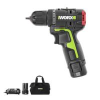 WORX 威克士 WU130 多功能锂电钻 二电一充套装