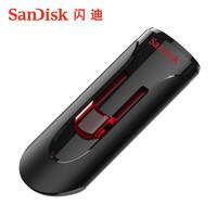 SanDisk闪迪U盘USB3.0正版CZ600系统∪盘学生加密u盘32g高速读取优盘正品车载16gU盘