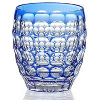 KAGAMI 江户切子 玻璃酒杯(传统工艺师-鍋谷聰 雕刻版)