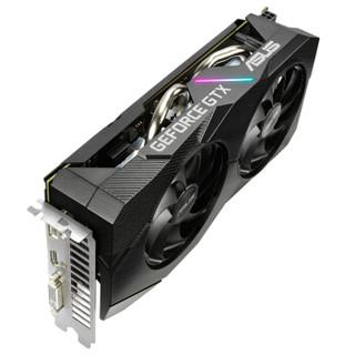 华硕 (ASUS) DUAL-GTX1660S-O6G-EVO 14000MHz 电竞特工系列游戏电竞专业显卡 6G 游戏显卡